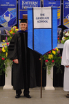 Dr. Brent Walker, Faculty marshal by Beverly J. Cruse