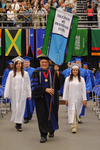 Dr. Charles G. Eberly, Faculty marshal by Beverly J. Cruse