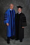Dr. William L. Perry, President, Mr. Steve Gosselin, Honorary degree of Public Service