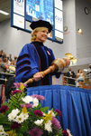 Dr. Carla S. Honselman, Commencement marshal by Beverly J. Cruse