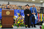 Dr. Blair M. Lord, Provost and Vice President for Academic Affairs, Mr. Steve Gosselin, Honorary degree of Public Service, Dr. William L. Perry, President by Beverly J. Cruse