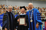 Dr. Blair M. Lord, Provost and Vice President for Academic Affairs, Mr. Steve Gosselin, Honorary degree of Public Service, Dr. William L. Perry, President