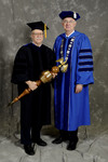 Dr. Peter G. Andrews, Commencement Marshall, President William Perry