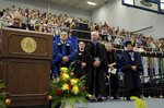 Dr. Daniel P. Nadler, Vice President for Student Affairs, Mr. Roger L. Kratochvil, Board of Trustee, Mr. Edward M. Hotwagner, Student Body President, Dr. Peter G. Andrews, Commencement marshal, Dr. Nancy L. Elwess, charge to the class