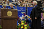 Dr. Blair M. Lord, Provost and Vice President for Academic Affairs, Mr. Robert E. Holmes Jr., Honorary degree recipient by Beverly J. Cruse