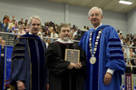 Dr. Blair M. Lord, Provost and Vice President for Academic Affairs, Dr. Bailey Young, Distinguished Faculty Award, Dr. William L. Perry, President