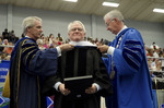 Dr. Blair M. Lord, Provost and Vice President for Academic Affairs, Mr. Robert Corn-Revere, Honorary Degree Recipient, Dr. William L. Perry, President by Beverly J. Cruse