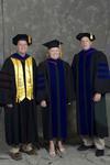 Dr. Lance Hogan, Dr. Julie Chadd, Dr. Luke Steinke by Beverly J. Cruse