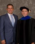 Mr. Sean Payton, Honorary Degree Recipient, Dr. Richard L. Roberts, Commencement Marshall
