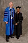 Dr. William L. Perry, President, Dr. Gwendolyn J. Dungy, Honorary Degree Recipient