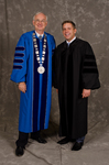 Dr. William L. Perry, President, Mr. Sean Payton, Honorary Degree Recipient