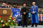 Dr. Blair M. Lord, Provost & Vice President for Academic Affairs, Mr. Sean Payton, Honorary Degree Recipient, Honorary Degree Recipient, Dr. William L. Perry, President by Beverly J. Cruse