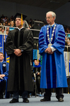 Mr. Sean Payton, Honorary Degree Recipient, Honorary Degree Recipient, Dr. William L. Perry,  President