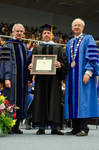 Dr. Blair M. Lord, Mr. Sean Payton, Honorary Degree Recipient, Honorary Degree Recipient, Dr. William L. Perry, President