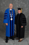 Dr. William L. Perry, President, Mr. Don  L. Gher, Honorary Degree Recipient