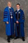 Dr. William L. Perry, President, Mr. Jarrod T. Scherle, Student BOT