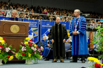 Dr. Blair M. Lord, Mr. Don  L. Gher, Honorary Degree Recipient,  Dr. William L. Perry President