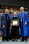 Dr. Blair M. Lord, Provost & Vice President for Academic Affairs, Mr. Don  L. Gher, Honorary Degree Recipient,  Dr. William L. Perry, President