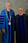 Dr. William L. Perry, President, Dr.  Andrew Methven, Distinguished Faculty Award