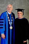 Dr. William L. Perry, President, Mr. Habeeb Habeeb, Commencement Speaker
