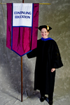 Dr. Rebecca Throneburg, Faculty Marshal