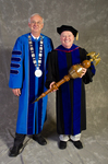 Dr. William L. Perry, President, Dr. Richard Cavanaugh, Commencement Marshal