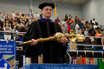 Dr. John Ryan, Commencement Marshal by Beverly J. Cruse