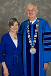 Mrs. Linda Perry, Dr. William L. Perry