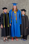 Dr. Kathlene S. Shank, Chair, Department of Special Education, Ms. Katherine A. Eckberg, Student Speaker, Ms. Stephanie Woodley, Student Speaker Mentor -- 3pm Session by Beverly J. Cruse