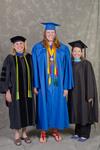 Dr. Kathlene S. Shank, Chair, Department of Special Education, Ms. Katherine A. Eckberg, Student Speaker, Ms. Stephanie Woodley, Student Speaker Mentor -- 3pm Session