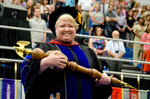 Dr. Linda S. Ghent, Commencement Marshal