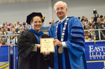 Dr. Rebecca M. Throneburg, Luis Clay Mendez Distinguished Service Award, Dr. William L. Perry
