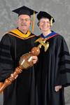 Dr. Gary Fritz, Commencement Marshal & Dr. Ann H. Fritz