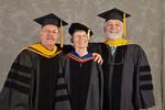 Dr. Gary Fritz, Commencement Marshal & Dr. Ann H Fritz