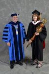 Dr. David Glassman & Dr. Kathryn Bulver, Commencement Marshal by Beverly J. Cruse