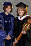 Dr. Christiane K. Eydt-Beebe  & Dr. Kathryn Bulver, Commencement Marshal