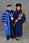 Dr. David Glassman  & Dr. Jill Owen, Commencement Marshal