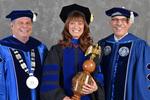 Dr. David Glassman & Dr. Jill Owen, Commencement Marshal by Beverly J. Cruse