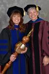 Dr. Jill Owen, Commencement Marshal & Dr. Sheila Simons