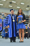 Dr. David Glassman  & Ms. Chantell Bonham, Lord Scholar