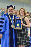 Dr. David Glassman  & Ms. Delaney Killian, Lord Scholar