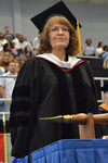 Dr. Kathryn Bulver, Commencement Marshal