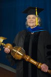 Barbara Lawrence, Commencement Marshal by Beverly J. Cruse