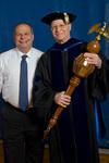 President Glassman, Gary Aylesworth by Beverly J. Cruse