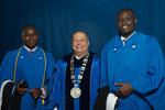President Glassman, International Student Graduates by Beverly J. Cruse