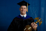 Kevin Hussey, Commencement Marshal by Beverly J. Cruse