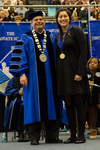 President Glassman, Gabriela Ramirez by Beverly J. Cruse