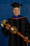 Dr. David Boggs, Commencement Marshal by Beverly Cruse