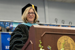 Dr. Christina Edmonds-Behrend, Student Speaker Mentor by Beverly Cruse