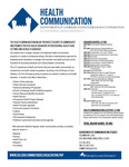 Health Communication curriculum by Communication Studies